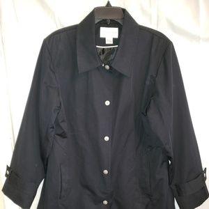 Worthington Black coat, XL